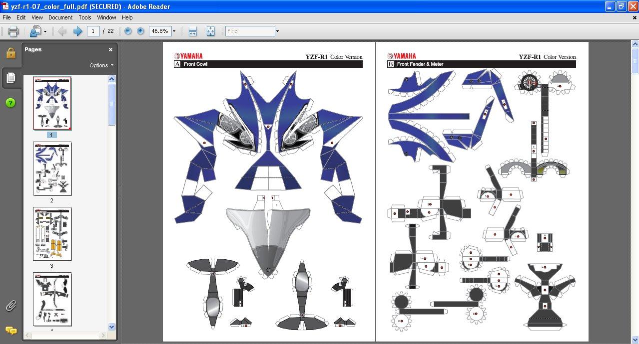 Papercraft thawils blog selamat mencoba jeuxipadfo Choice Image